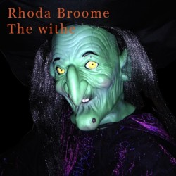 Rhoda Broome Flying Witch (Life Size Animatronics)