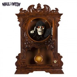 Reloj de Pared Embrujado Animado Halloween