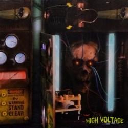 Caja Eléctrica de Alto Voltaje (Animatronics - Halloween)