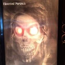 Retrato Fantasma Dama Animado Halloween