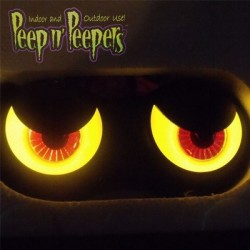 Peep 'n Peepers Ojos/Luces Tenebros para Exterior o Interior (Box Set por 3 pares de ojos)os