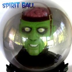 Bola de Cristal con Monstruo - Animada