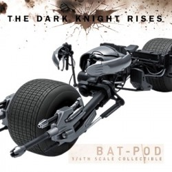 The Bat-pod ( Sixth Scale Figure Related Product by Hot Toys)