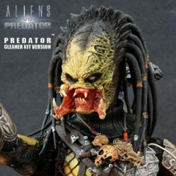 Wolf Predator Cleaner Kit version Hot Toys 1/6th Alien