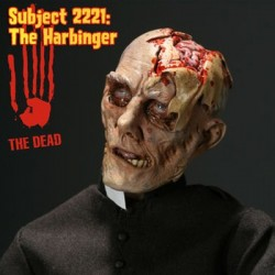 SUBJECT 2221: THE HARBINGER 1/6 ZOMBIE BY SIDESHOW COLLECTIBLES