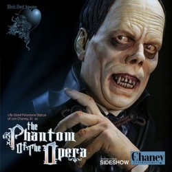 Lon Chaney Sr as The Phantom of the Opera (Life-Size Bust by Black Heart Enterprises, LLC)