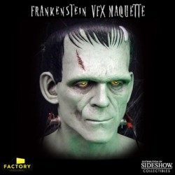 Universal Monsters Frankenstein Edición Limitada VFX (Busto 1:1 Prop Replica Reloj)