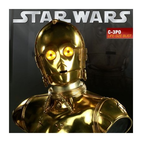 C-3PO (Life-Size Bust by Sideshow Collectibles)