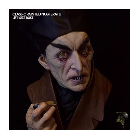 Classic Painted Nosferatu (Life-Size Bust by Black Heart Enterprises, LLC)