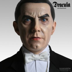Bela Lugosi as Dracula (Scale Life-Size Bust by Sideshow Collectibles