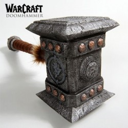 Warcraft Doomhammer LARP (Prop Replica by Epic Weapons)