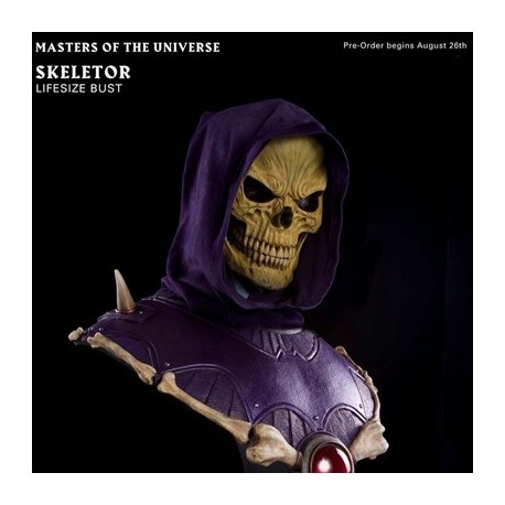 Skeletor (Life-Size Bust by PCS Collectibles)