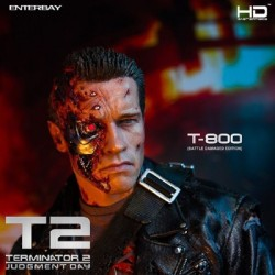 T-800 Battle Damaged Edition - Terminator 2 (1/4 Scale Action Figure by Enterbay)