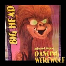 Hombre Lobo de Cabeza Grande Canta y Baila Gemmy Halloween