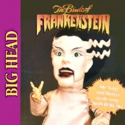 La Novia de Frankenstein Figura de Cabeza Grande Animada Gemmy