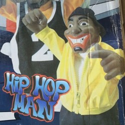 Dancing Hip Hop Man Sings And Dances with Rap Song