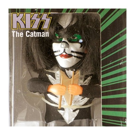 """KISS Peter Criss : The Catman (12"""" Soundalike Action Figure by Gemmy)"""