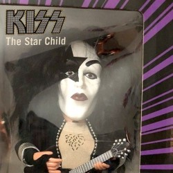 KISS The Star Child PAUL STANLEY Soundalike Action Figure by Gemmy)