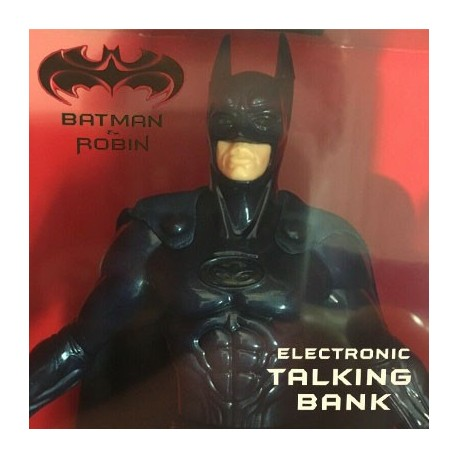 Batman And Robin Electronic Talking Coin Bank by Thinkway Toys