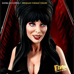 Elvira in Coffin (Premium Format™ Figure by Sideshow Collectibles)