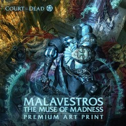 Malavestros The Muse of Madness (Art Print by Sideshow Collectibles)