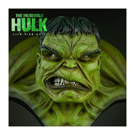 The Incredible Hulk (Life-Size Bust by Sideshow Collectibles)