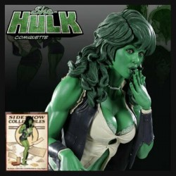 SHE - HULK Adam Hughes (Comiquette by Sideshow Collectibles)