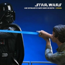 I Am Your Father – Luke Skywalker VS Darth Vader on Bespin (Polystone Diorama)